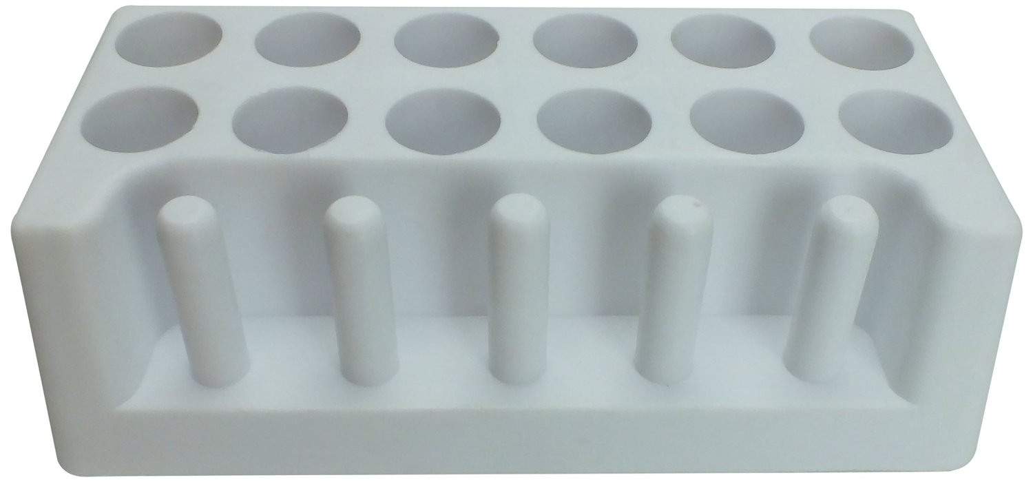 Full-View Series 200 Test Tube Support, Diameter 18 -20, Tubes12