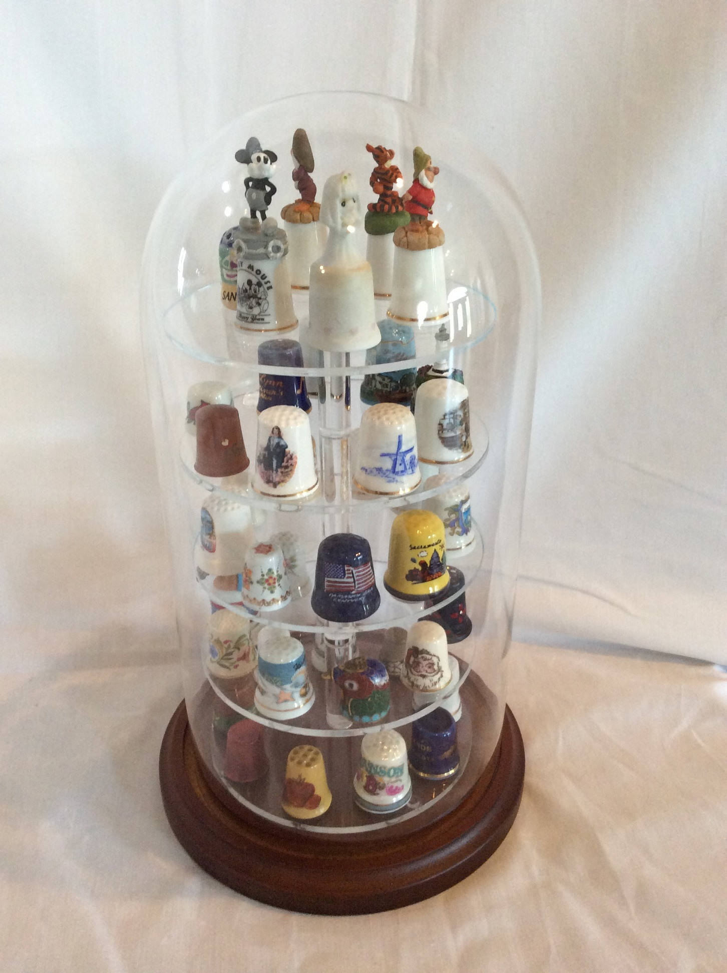 Thimble Display Domes