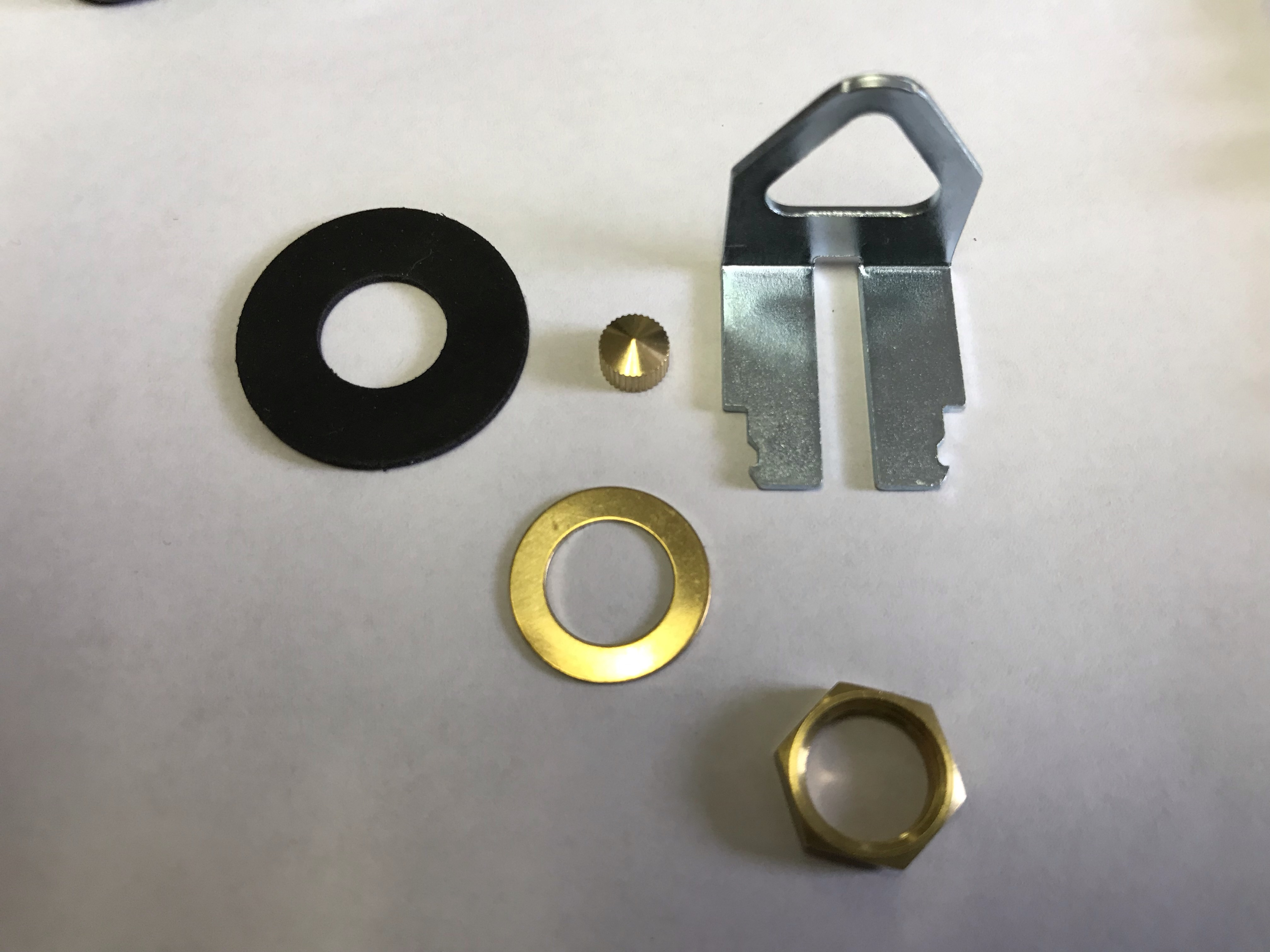 "Quartz Clock Movement Hardware Packages - Takane ""c"" cell"