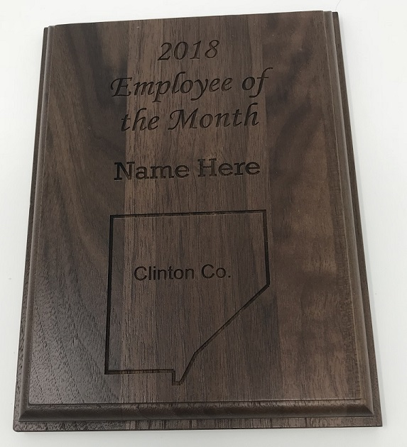 Custom Engraved Wooden Plaques