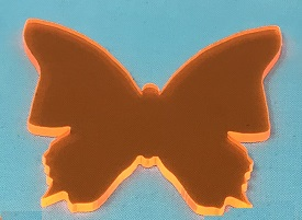 Acrylic or Wood Butterfly #23 (available in different colors)