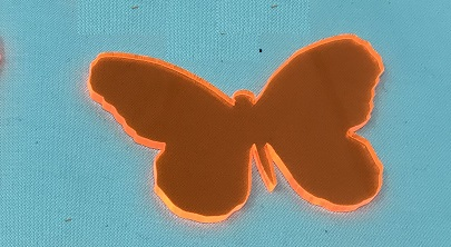 Acrylic or Wood Butterfly #27 (available in different colors)