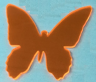 Acrylic or Wood Butterfly #28 (available in different colors)