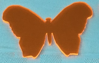 Acrylic or Wood Butterfly #29 (available in different colors)