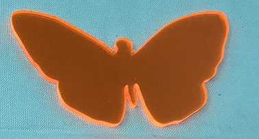 Acrylic or Wood Butterfly #30 (available in different colors)