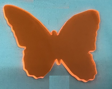 Acrylic or Wood Butterfly #31 (available in different colors)