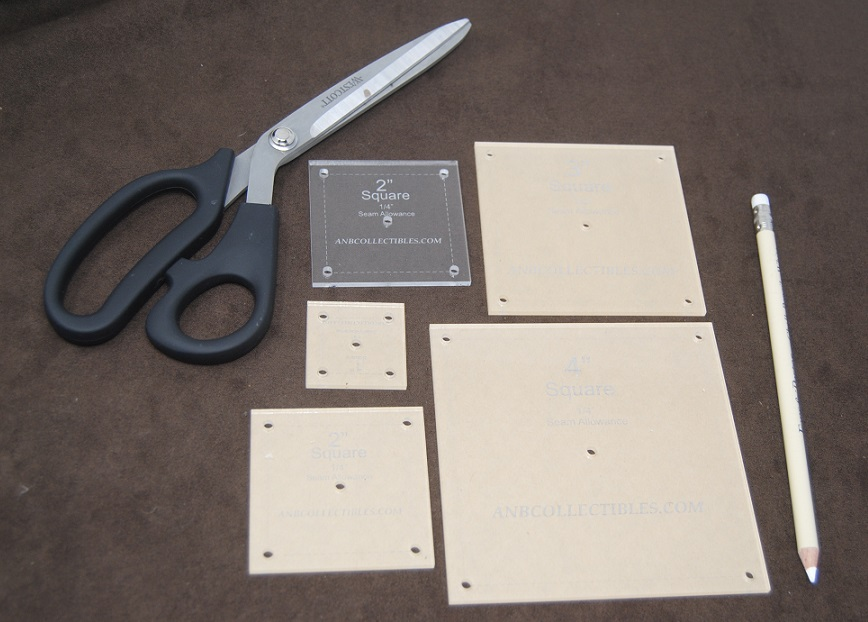 Acrylic Square Templates
