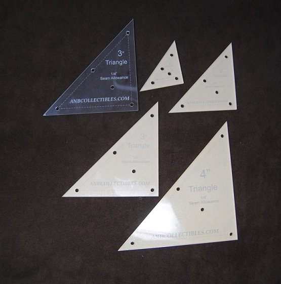 Acrylic Triangle Templates