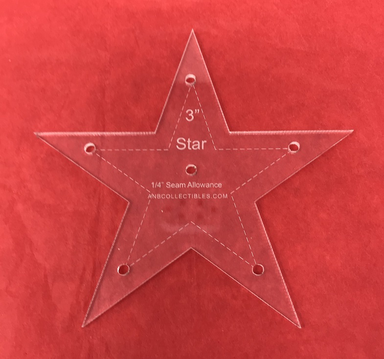 Acrylic Star Templates