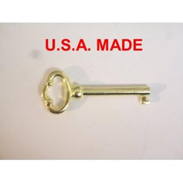Grandfather Clock Door Key for Howard Miller, Ridgeway, Sligh