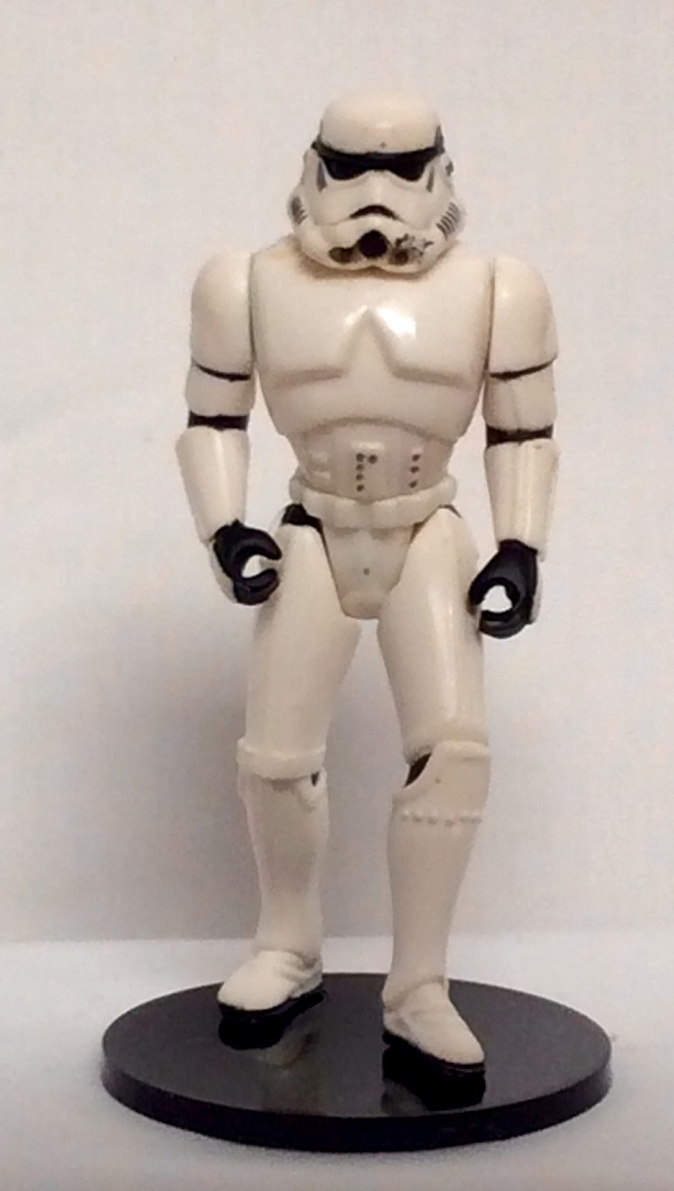 Action Figure Stand - Protech Black for Vintage Starwars Figures