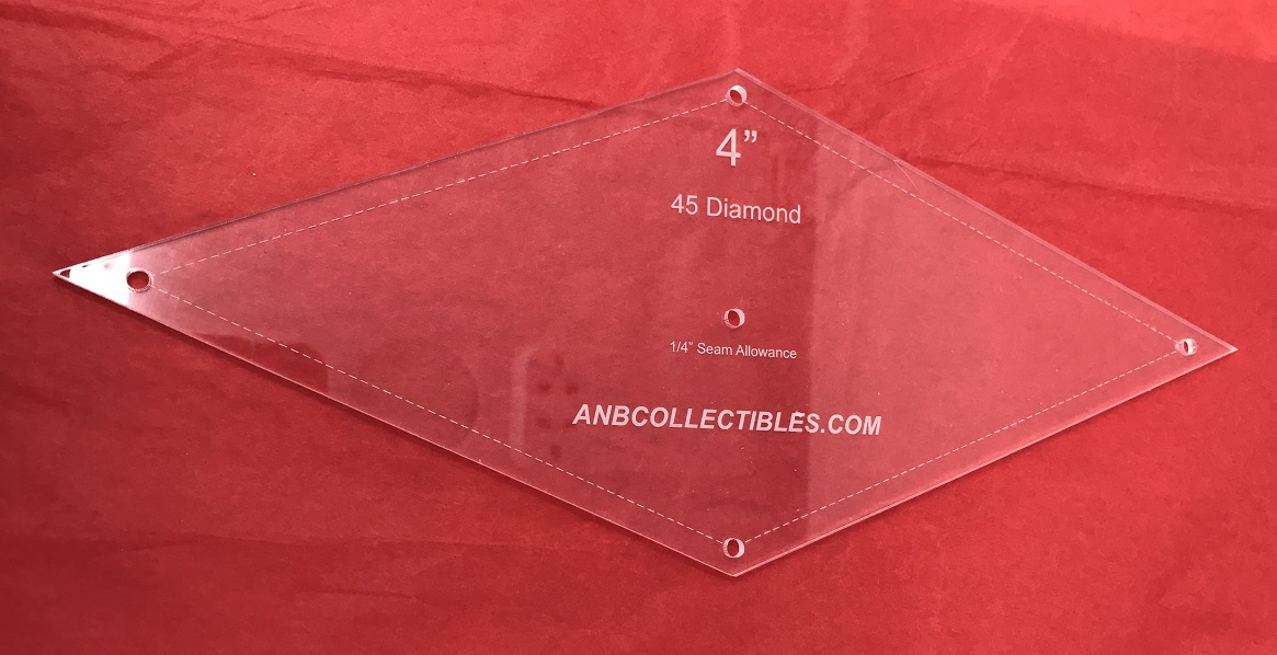 Acrylic Diamond Template